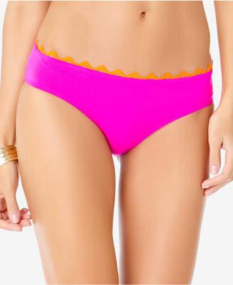 Anne Cole Block Party Ric Rack Hipster Bikini Bottoms Women's Swimsuit