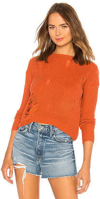 Tularosa Distressed Crew Neck Sweater