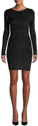 RENVY Metallic Sheath Dress