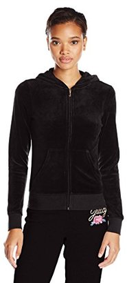 Juicy Couture Black Label Women's Logo Jc Laurel Vlr Orig Jacket $178 thestylecure.com