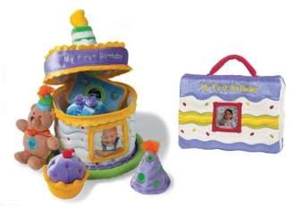 Baby Gund My First Birthday Gift Set - Cake & Photo Album