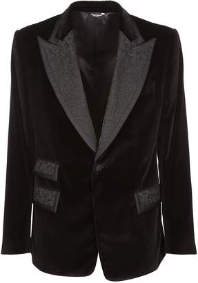 Dolce & Gabbana Formal Embroidered Blazer