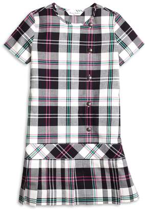 Brooks Brothers Girls Short-Sleeve Plaid Dress