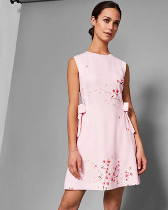 eea306810e0c5d Ted Baker SEELLA Soft Blossom bow detail dress