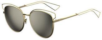 Dior Sideral 2 Metal Sunglasses $480 thestylecure.com