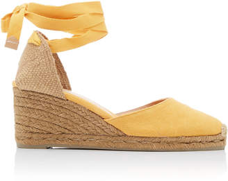 Castaner Carina Canvas Lace-Up Espadrilles