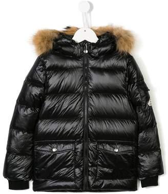 Pyrenex Kids padded hooded coat