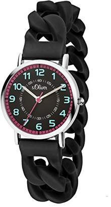S'Oliver Girls' Watch SO-3431-PQ
