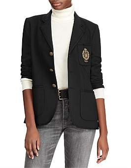 Polo Ralph Lauren Embroidered Merino Blazer