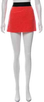 Milly Mini Wool Skirt