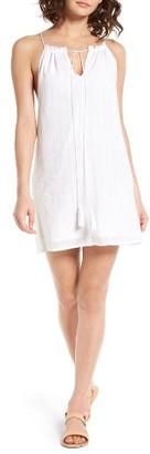 Women's Obey Isle Cotton Dress $57 thestylecure.com