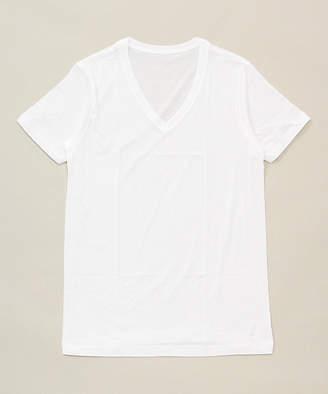 海島綿天竺半袖Vシャツ(0065‐37)