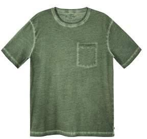 Mango man MANGO MAN Washed cotton-blend t-shirt