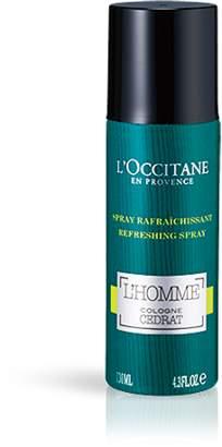 L'Occitane (ロクシタン) - セドラ オム リフレッシングスプレー|ロクシタン公式通販