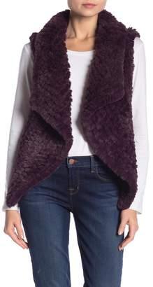 Bagatelle Faux Fur Draped Vest