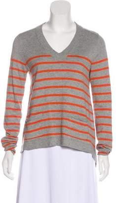 Rag & Bone Striped V-Neck Sweater