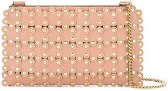 RED Valentino RED(V) flower studded crossbody bag