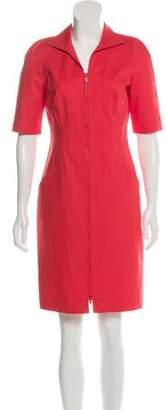 Lafayette 148 Knee-Length Zip-Up Dress w/ Tags
