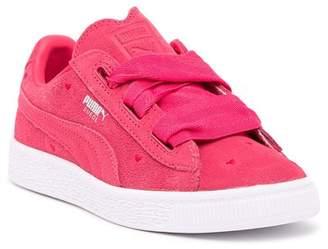 Puma Suede Heart Valentine Sneaker (Toddler & Little Kid)