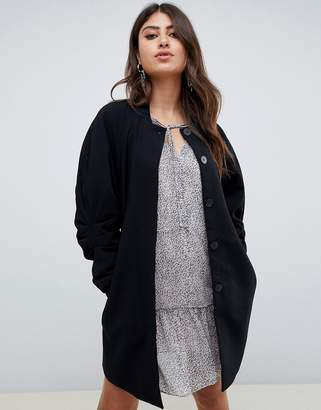 Vero Moda Coat With Volumous Sleeves