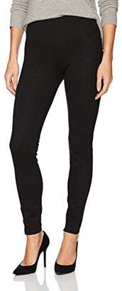 Liverpool Jeans Company Women's Reese Ankle Pull On Legging in Space Dye Ponte Knit