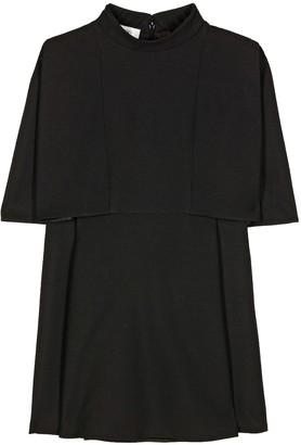 Valentino Wool and silk sleeveless top