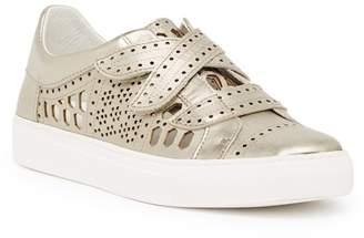 Rachel Zoe Jaden Leather Cutout Sneaker