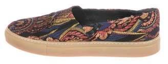 Dries Van Noten Printed Slip-On Sneakers