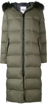 Yves Salomon Army long down jacket