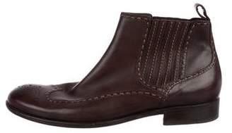 Bottega Veneta Wingtip Chelsea Boots