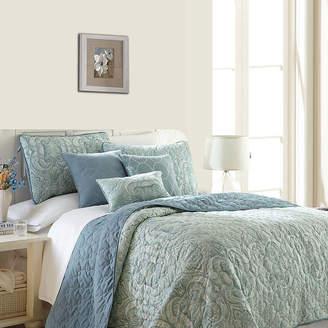 PACIFIC COAST TEXTILES Pacific Coast Textiles Bali 6-pc. Reversible Quilt Set