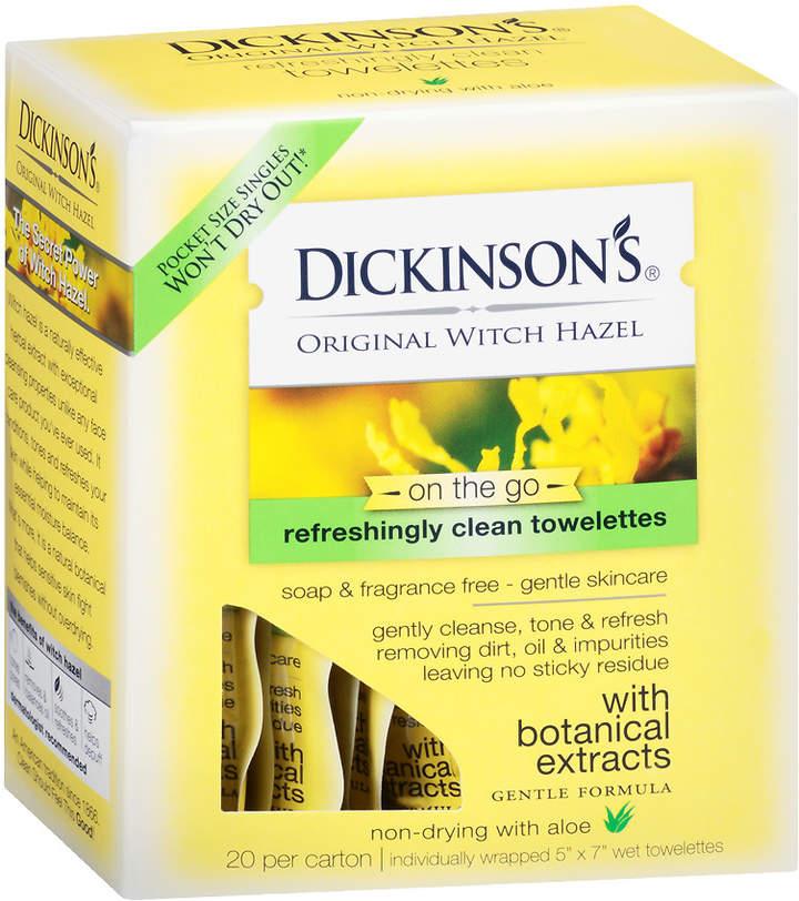 Dickinson's Original Witch Hazel Oil Controlling Towelettes