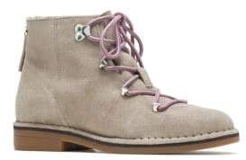 Hush Puppies Cyra Suede Hiker Boots
