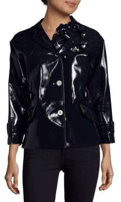 Miu Miu Notch Collar Buttoned Jacket