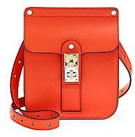 Proenza Schouler Women's Smooth Leather Crossbody Box Bag