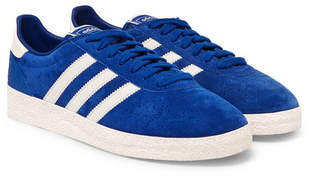 adidas Munchen Super SPZL Suede Sneakers - Men - Blue