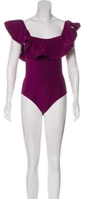 MISA Los Angeles Off-The Shoulder Bodysuit w/ Tags