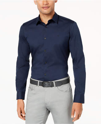Calvin Klein Men's French Placket Shirt