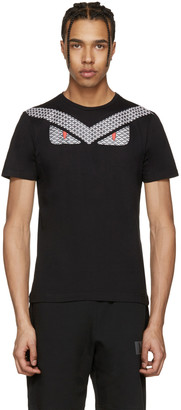 Fendi Black 'Bag Bugs' T-Shirt $320 thestylecure.com