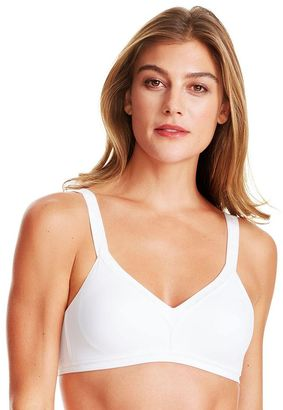 Warner's Bra: Just You Wire-Free Full-Coverage Bra RQ8691A $38 thestylecure.com