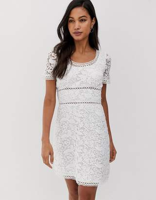 Fashion Union lace mini dress