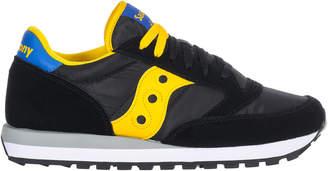 Saucony Jazz Black/yellow/blue Sneakers