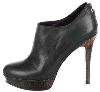 House Of Harlow Natalia Python-Trimmed Boots