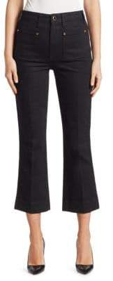 Raquel Patch Pocket Flare Jeans