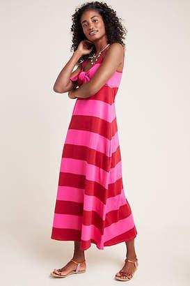 MDS Stripes Teagan Striped Maxi Dress