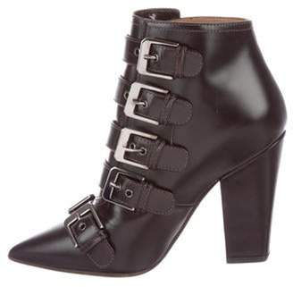 Laurence Dacade Leather Pointed-Toe Booties Leather Pointed-Toe Booties