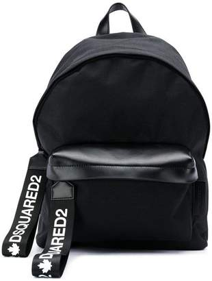 DSQUARED2 logo detail backpack