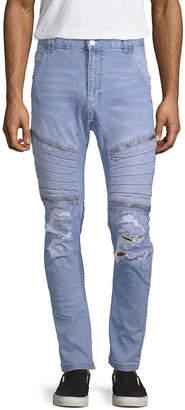 Nxp Distressed Slim-Fit Pant