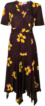A.L.C. floral print wrap dress