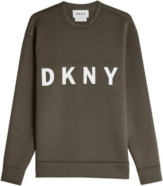DKNY Printed Cotton Sweatshirt